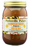 Poolesville Pickers BBQ Sauce