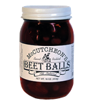 Pickled Beet Balls