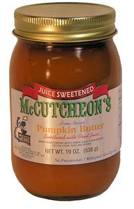 Juice Sweetened Pumpkin Butter